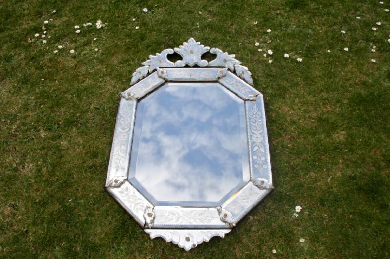 1930`s Venetian Mirror