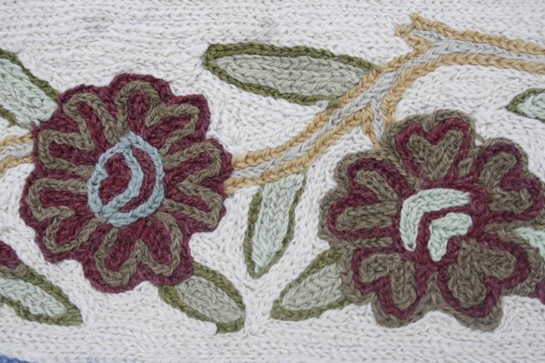 Wool/silk rug