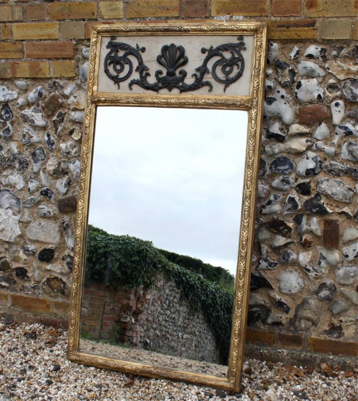 19th Century Gilt Framed Trumeau Mirror