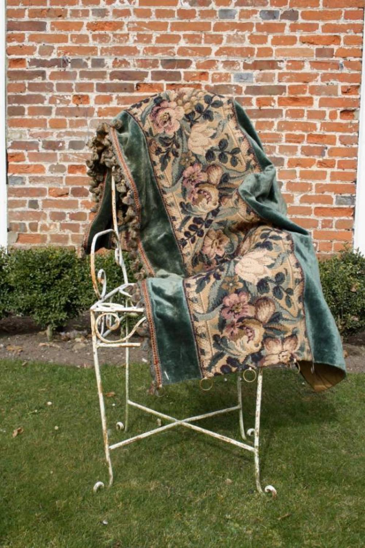 Tapestry/silk velvet curtains