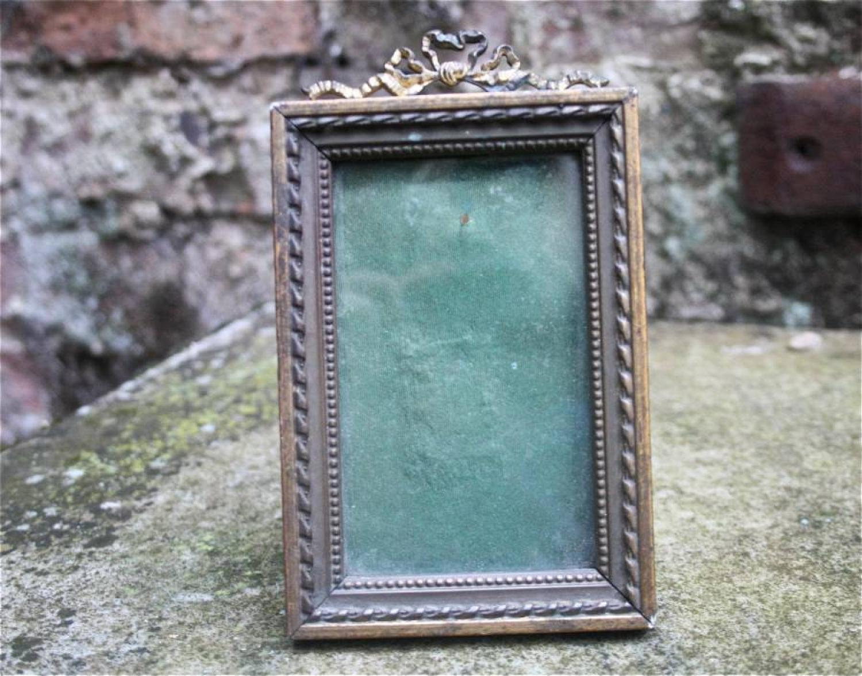 Victorian giltwood ormolu frame