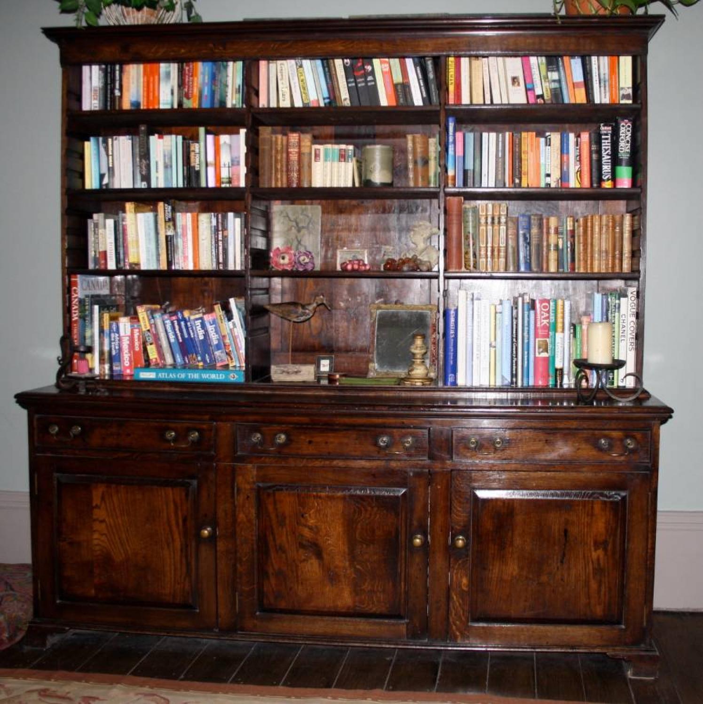 Oak Bookcase/Dresser