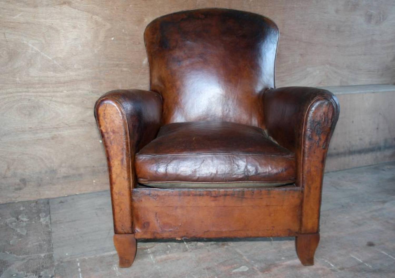 1930`s Leather Armchair
