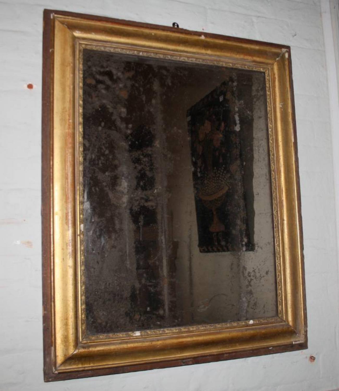 Gilt French Mirror