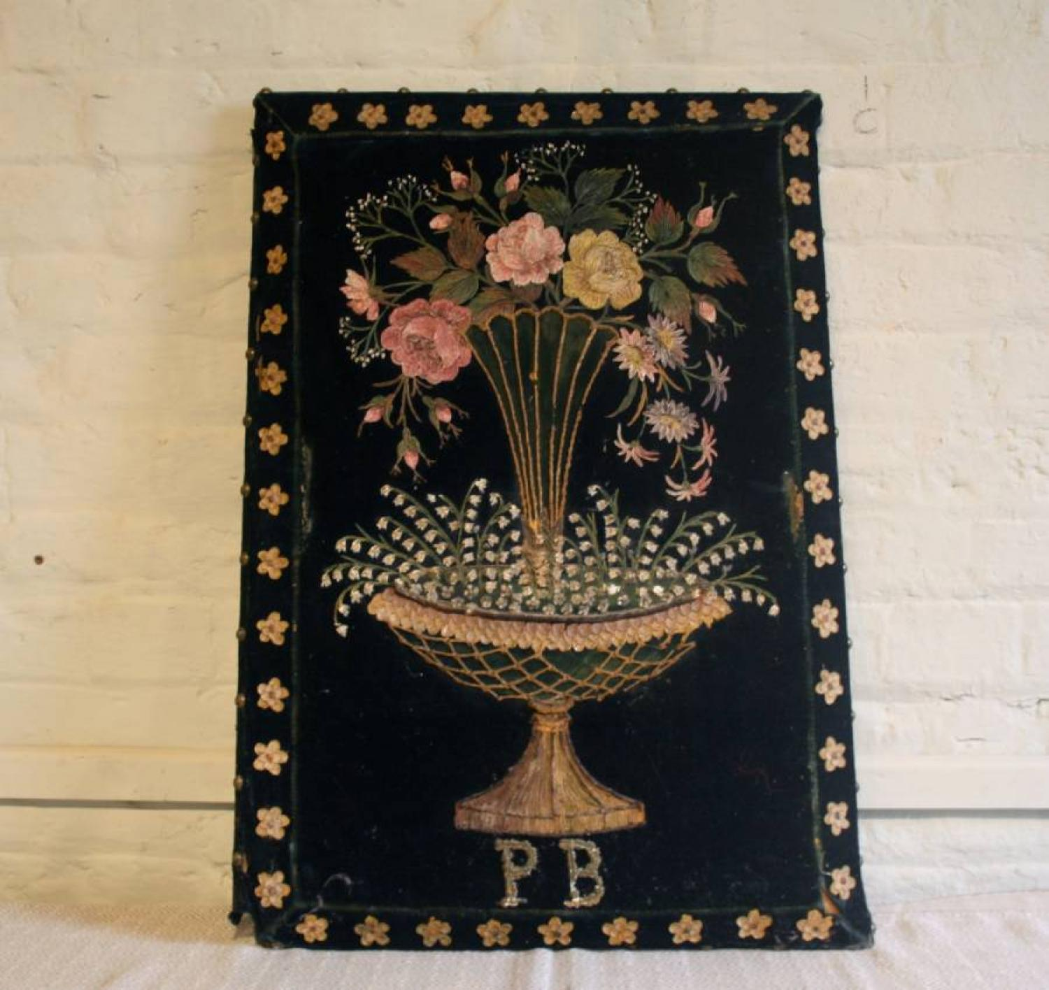 Decorative French Floral Picture