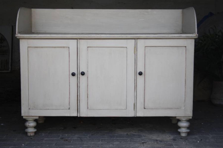 19th Century Pine Dresser Base