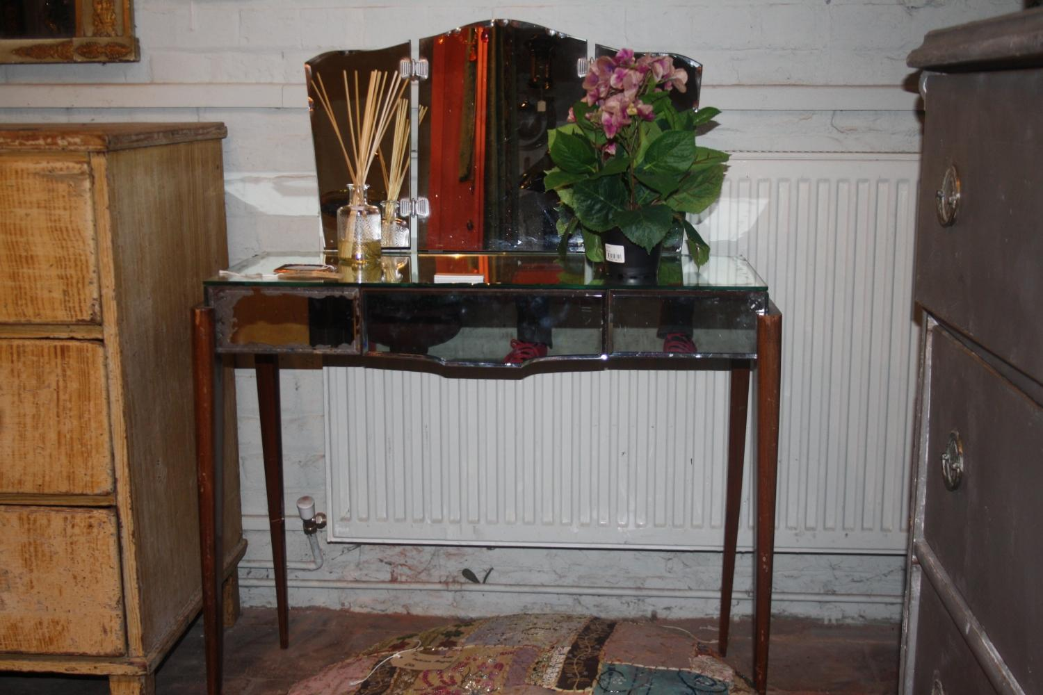 1930`s mirrored dressing table