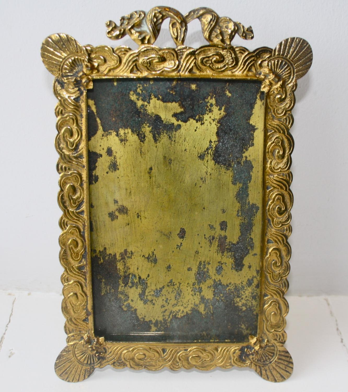 Brass Photo Frame - c. 1870