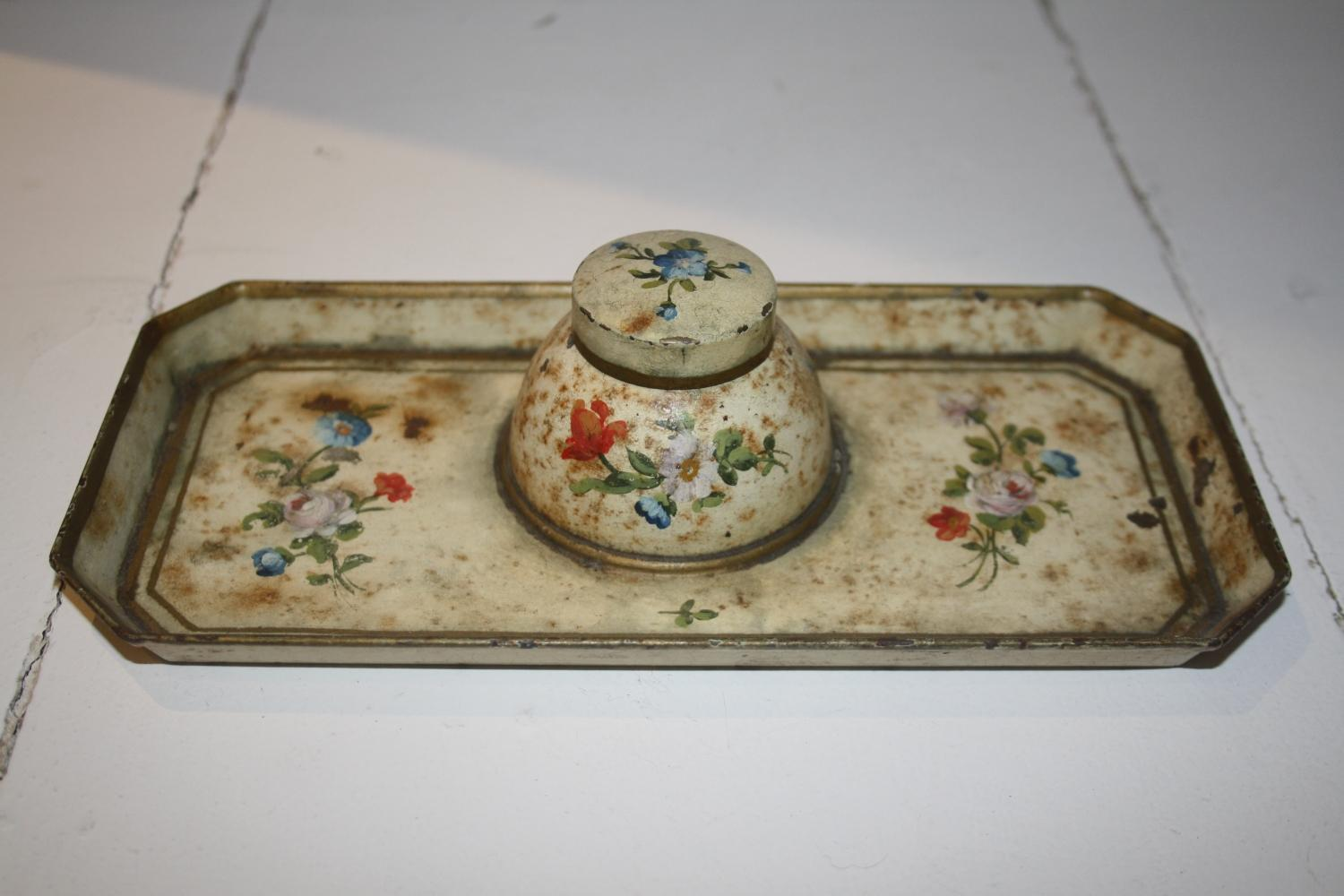 Toleware Inkwell