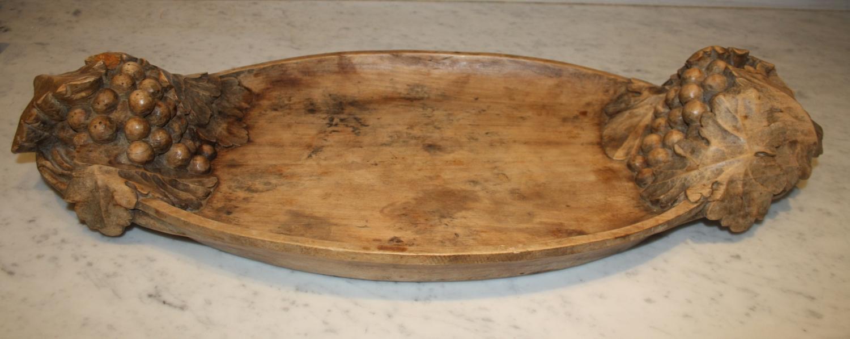 Vintage Wooden Platter