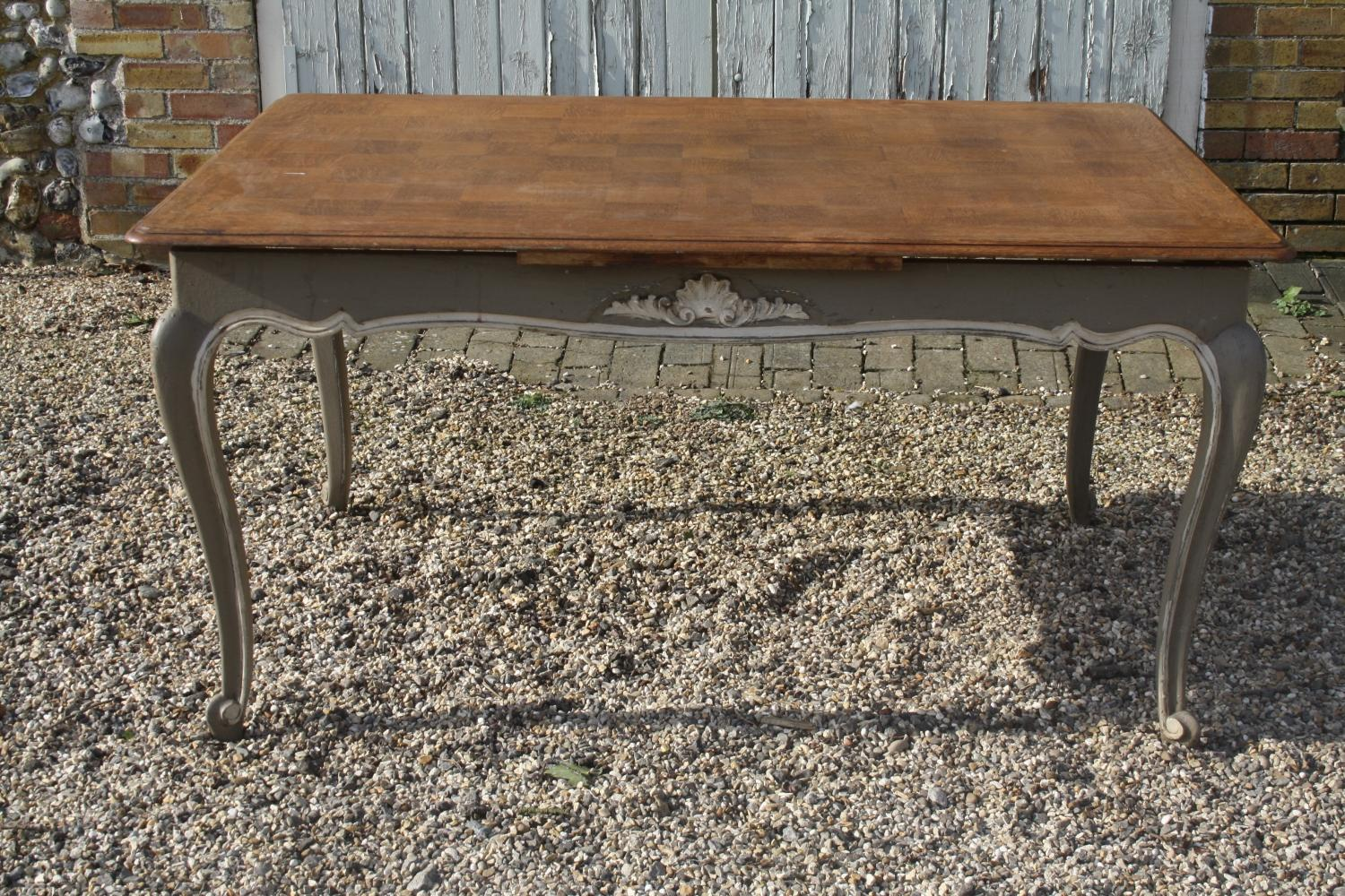 French Extendable Dining Table