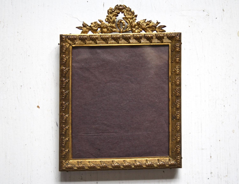 19th Century Ormolu Gilt Photo frame