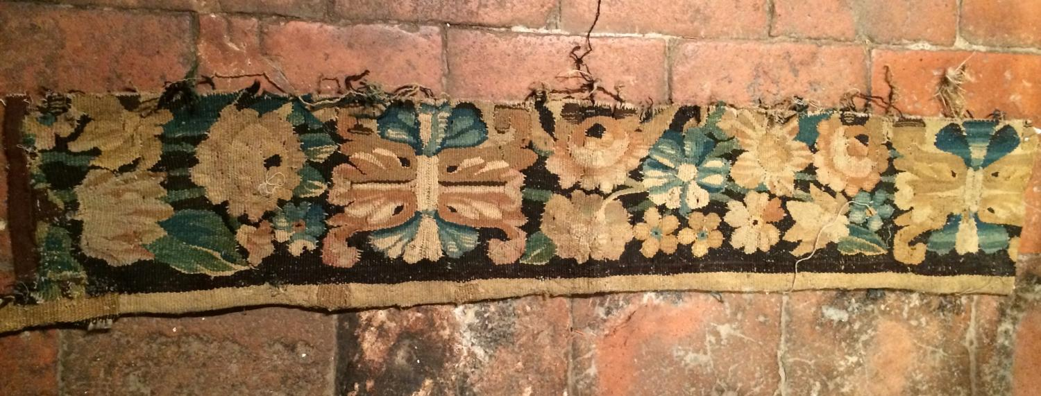 17th Cent Fabric remnant