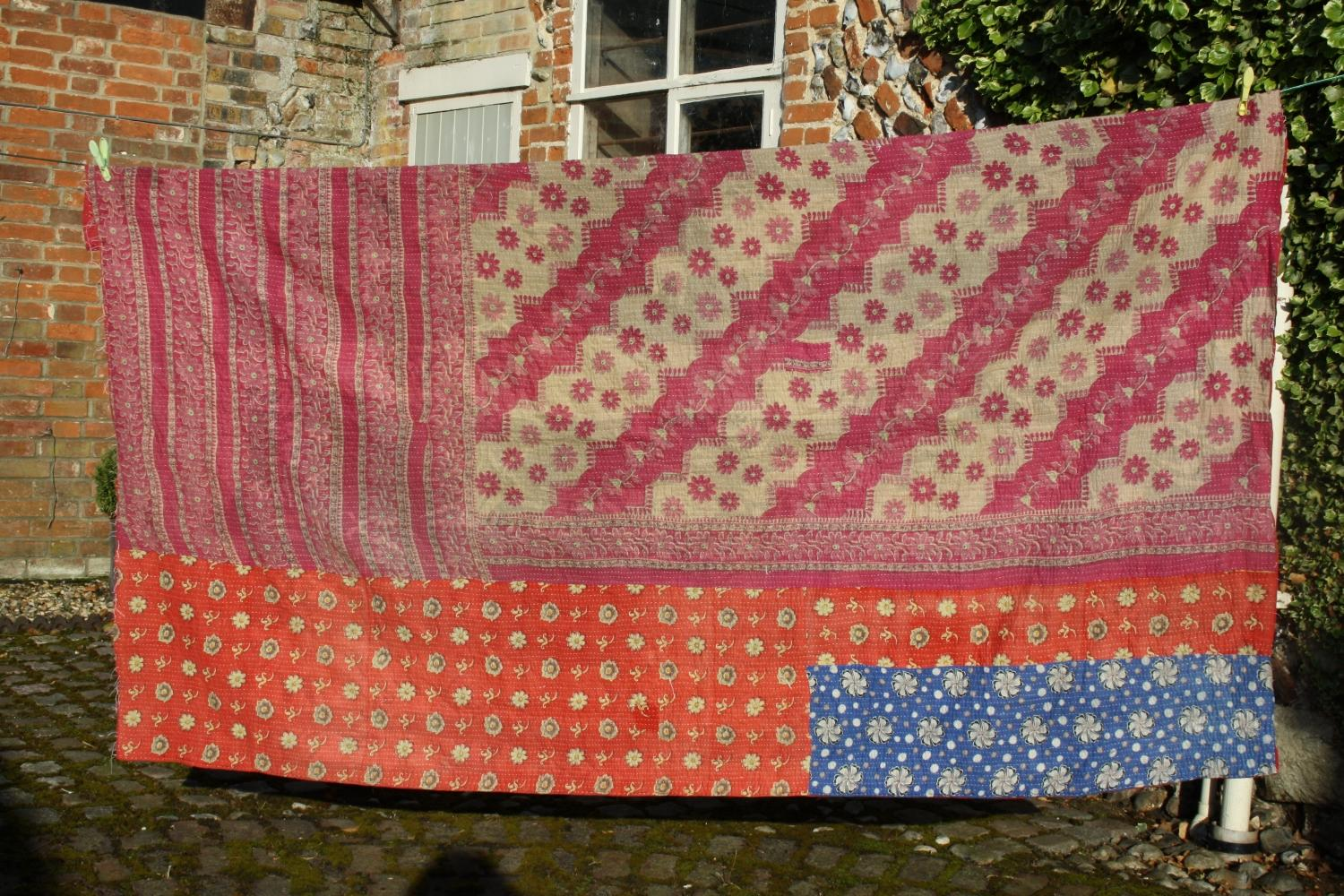 Indian Bedspread/Throw