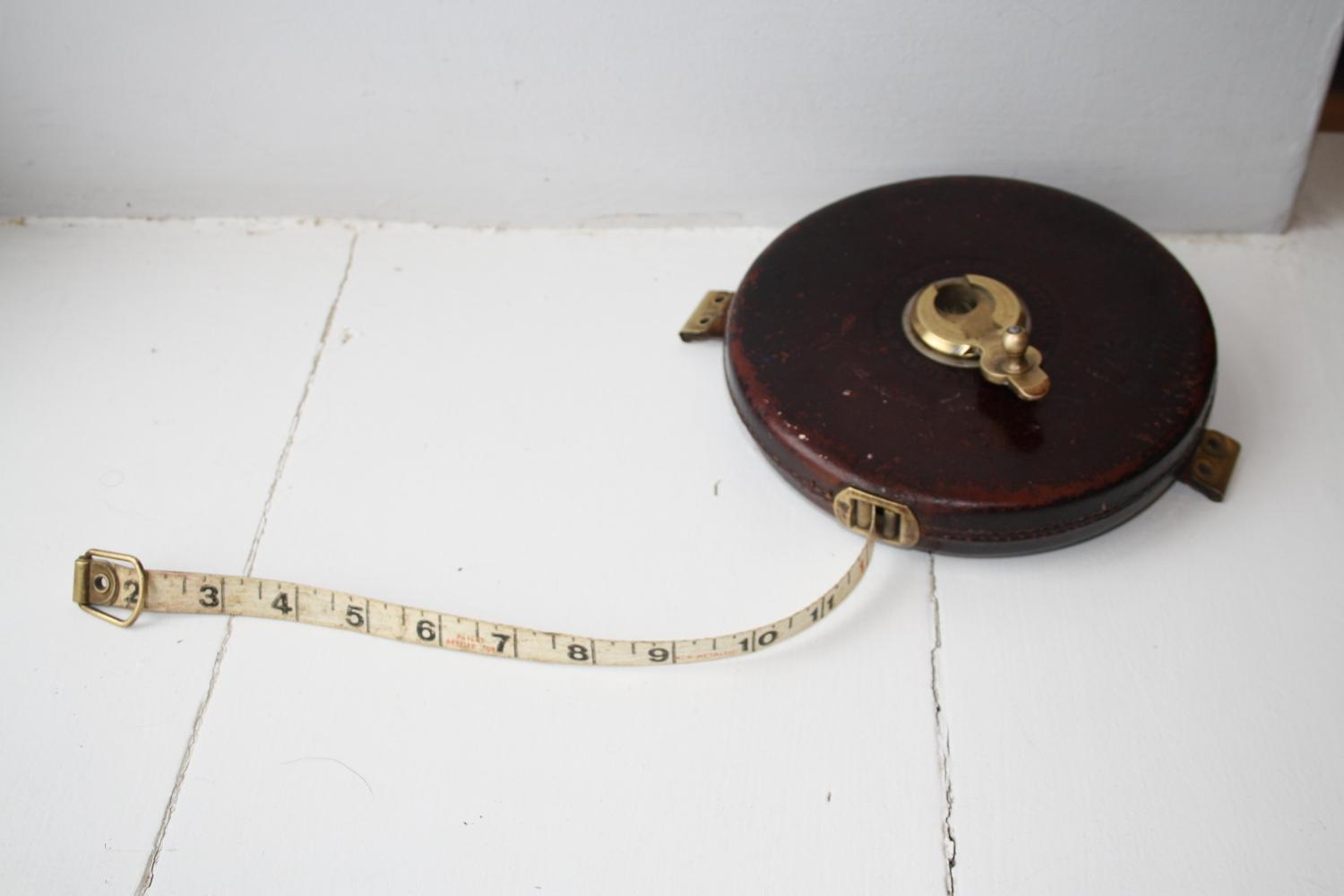 Leather 100ft Tape Measure