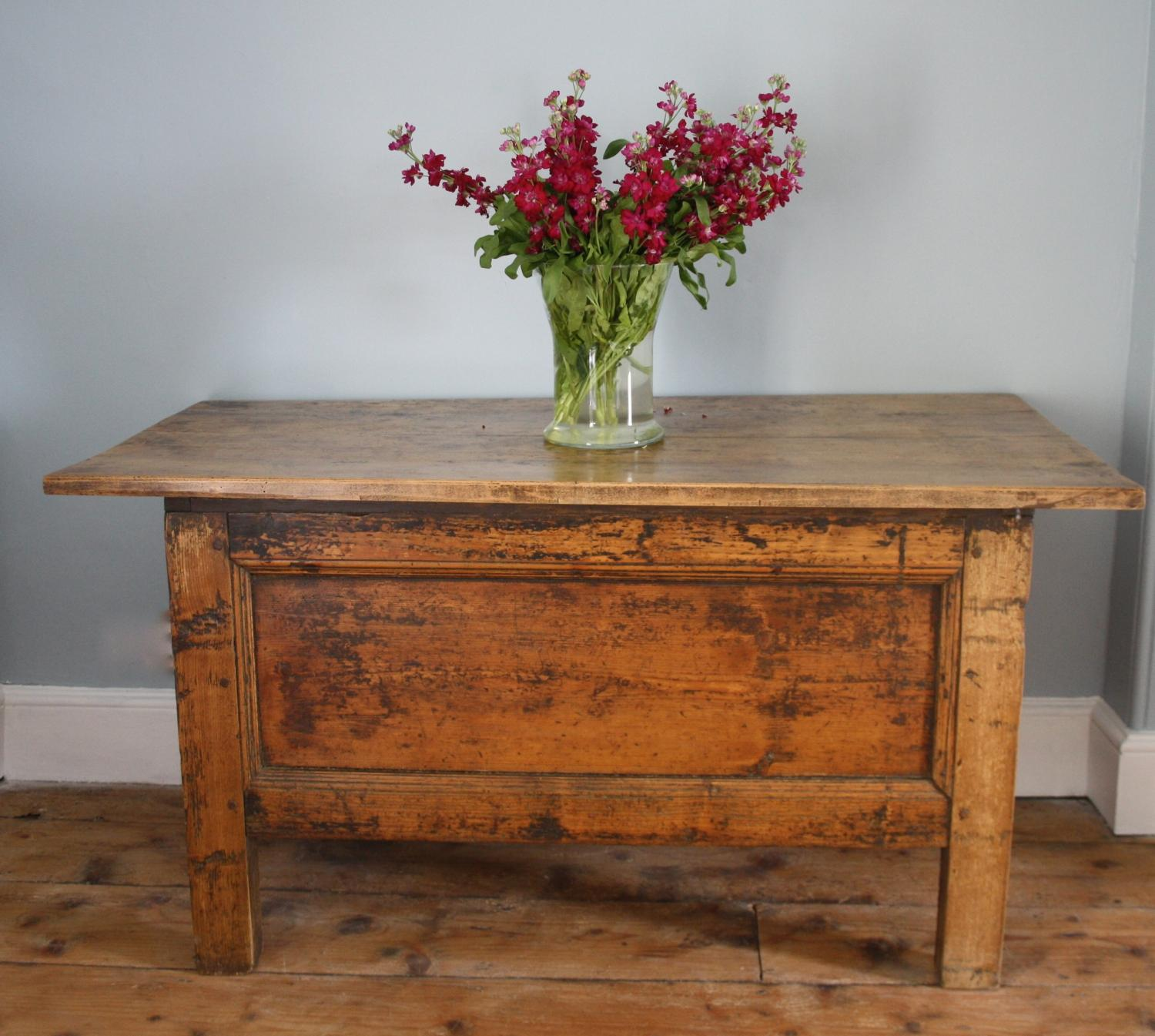 Centre/Serving Table - fruitwood and pine