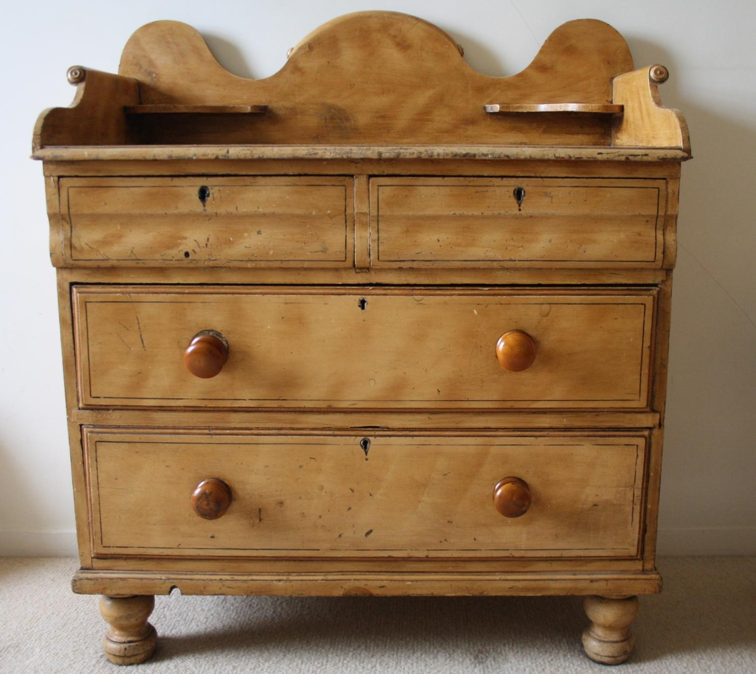19th Century Pine Chest of Drawers
