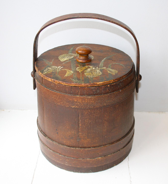 Firkin Bucket/Flour Barrel