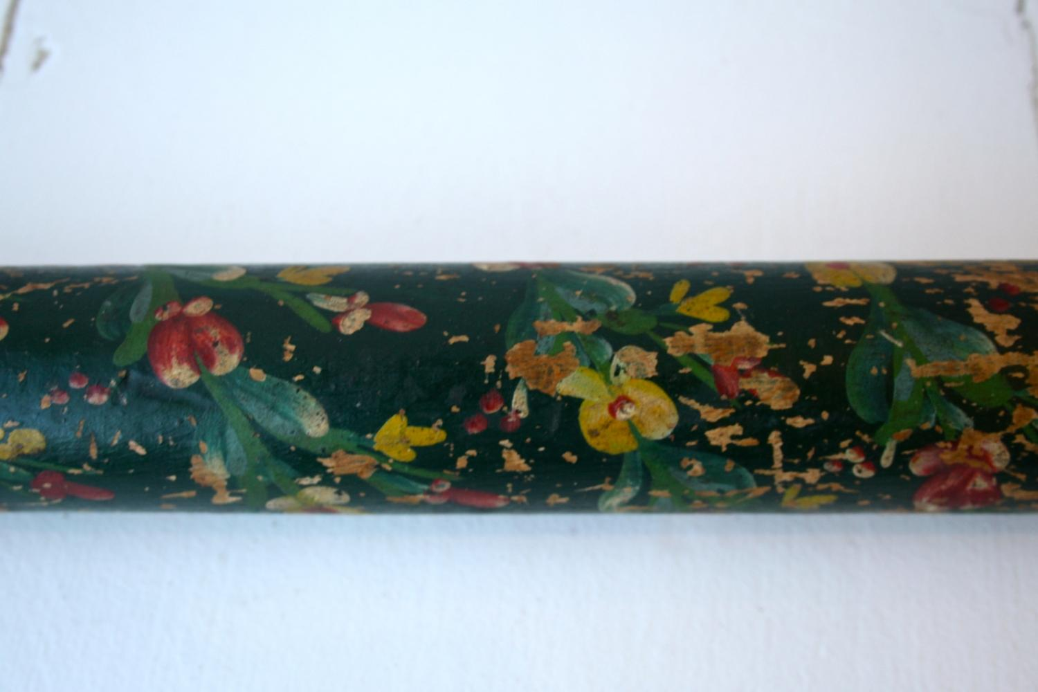 Handpainted wooden rolling pin