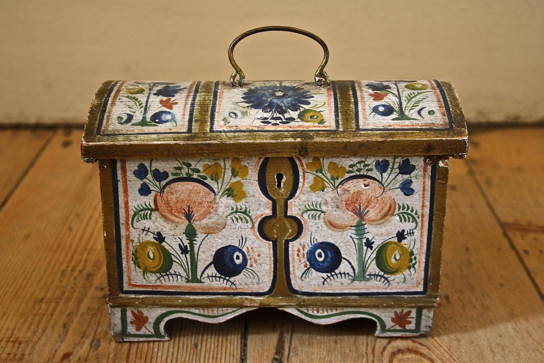 19th Century Norwegian Box