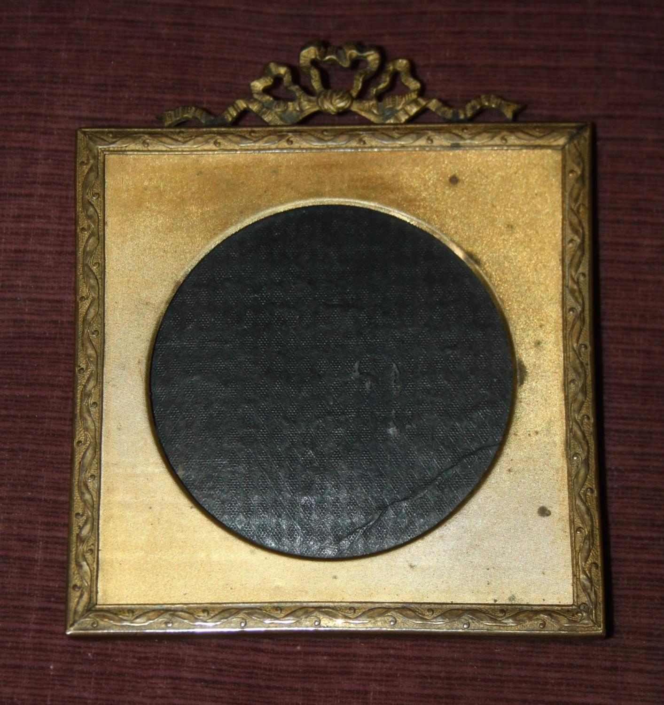 Small gilt ormulu photo frame