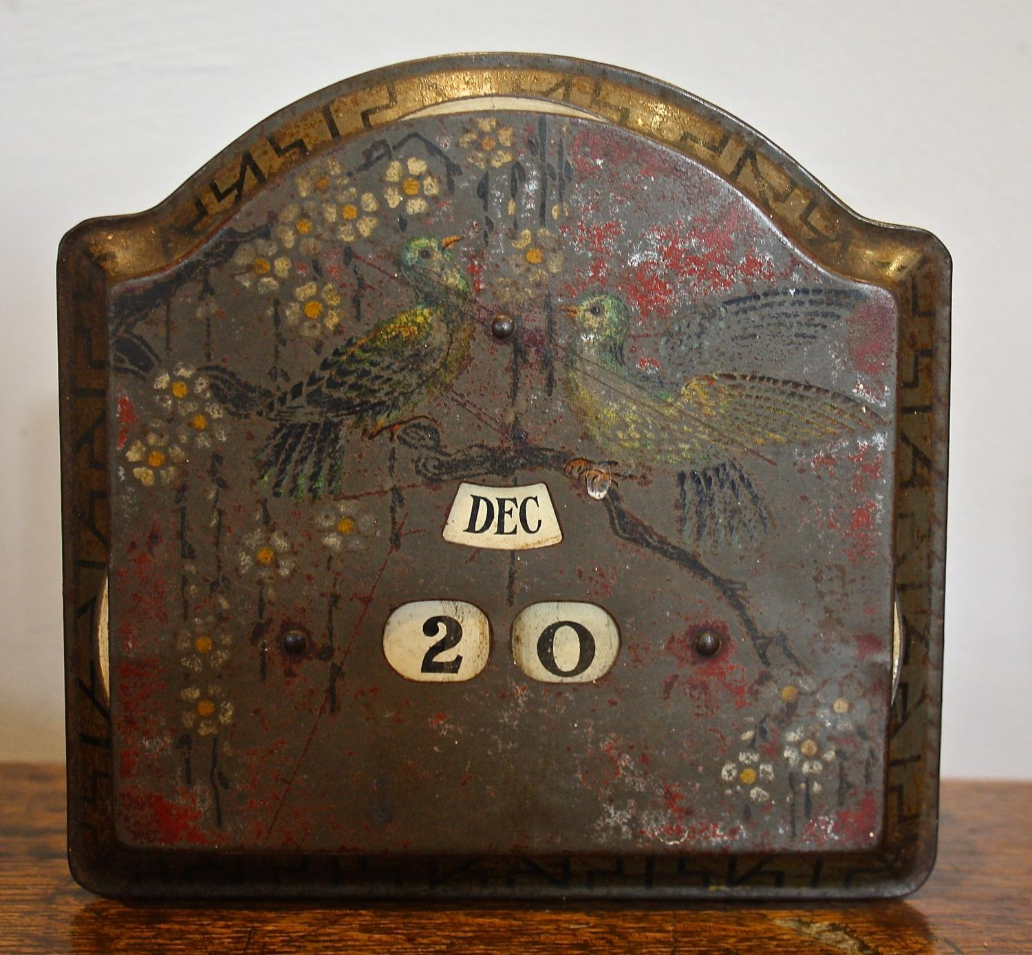 Decorative Tin with Date