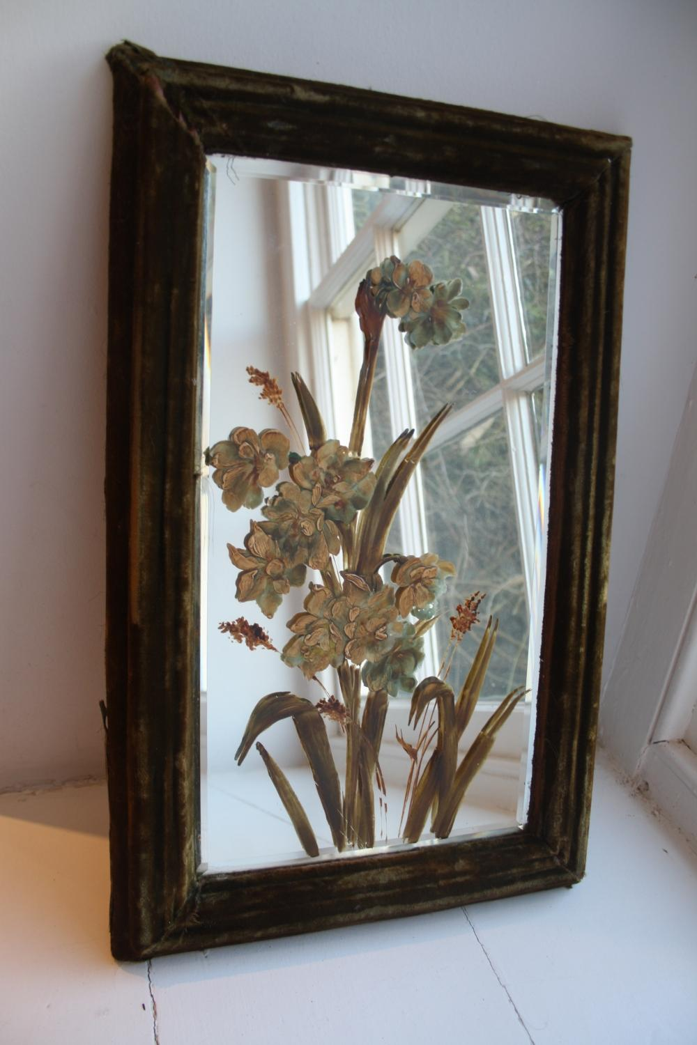Early 1900's Bevelled Mirror