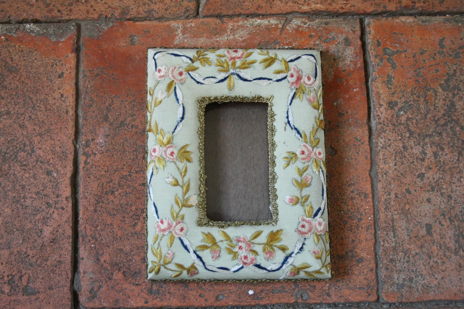 Embroidered Photo Frame