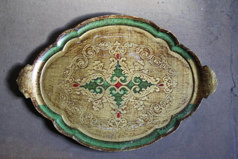 Florentine tray - 1950's