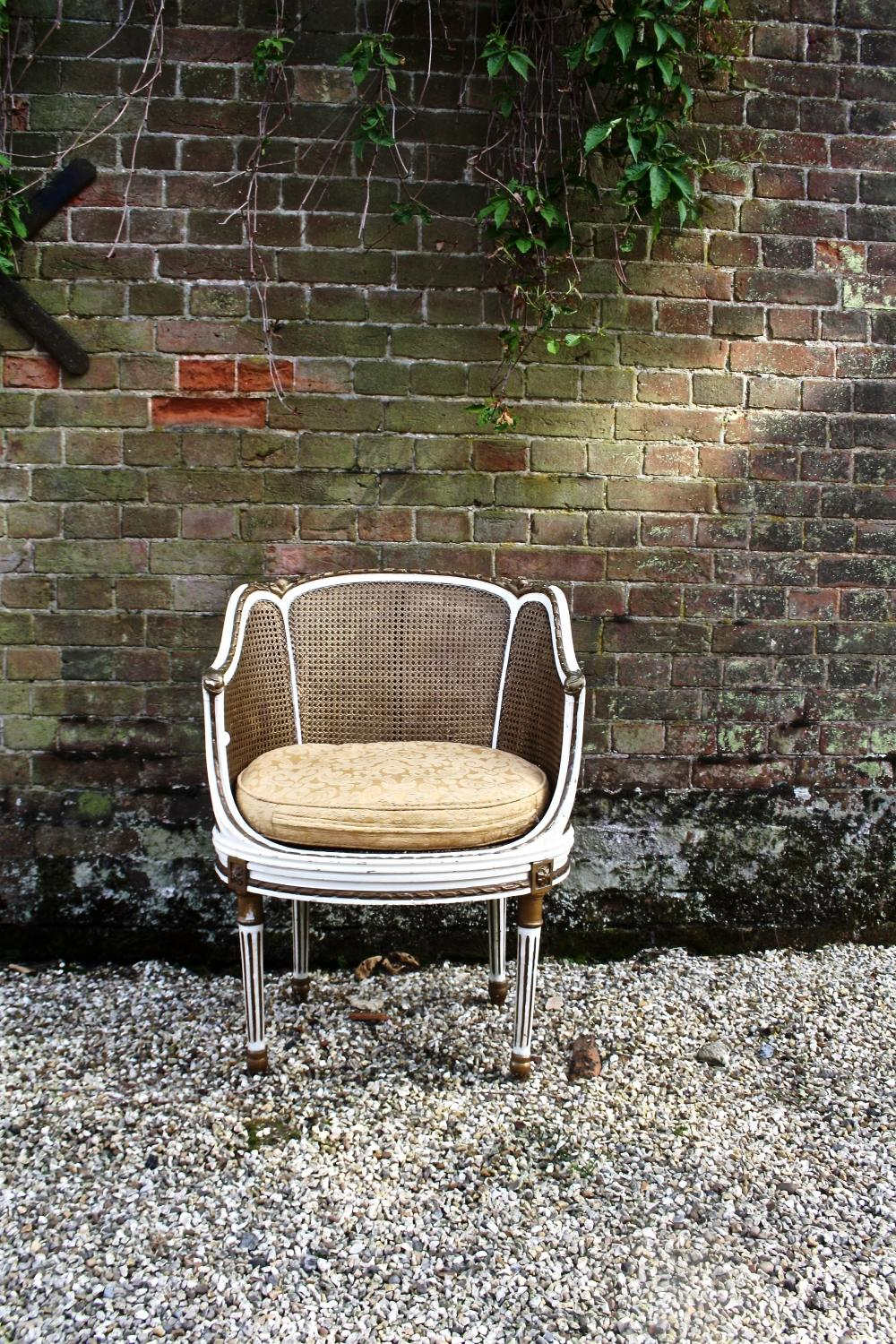 French Bergère Chair