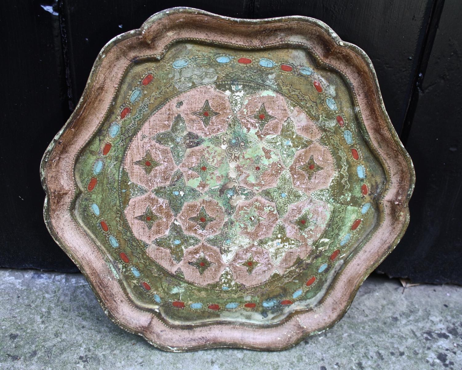Selection of Florentine trays