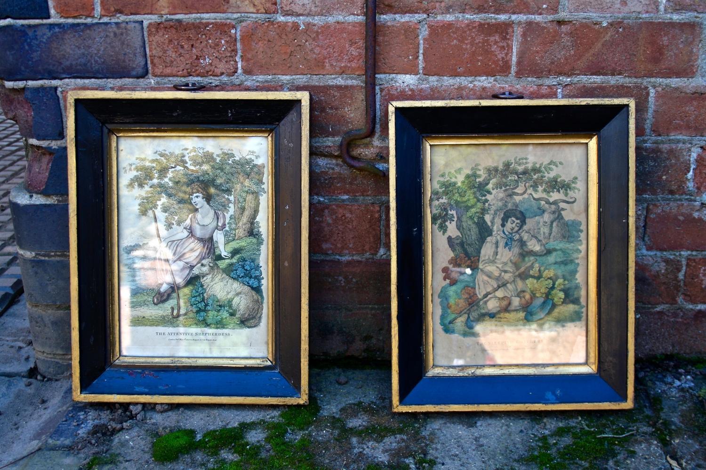 Pair of C19th Prints