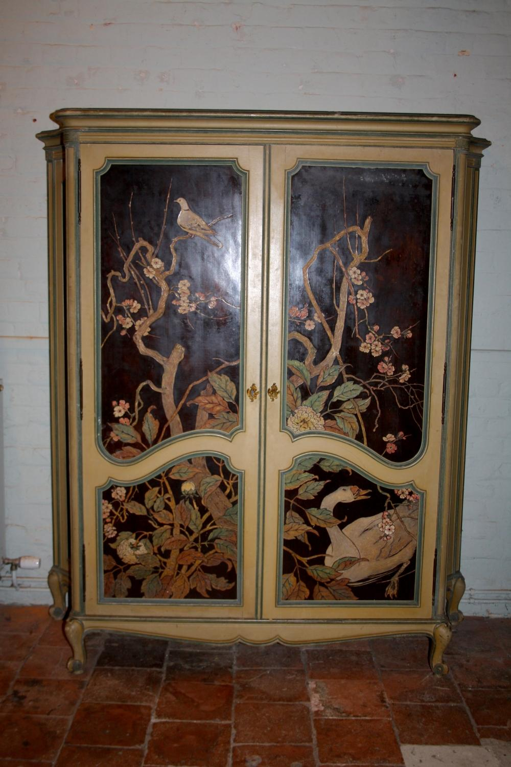 1940's/50's shelved armoire