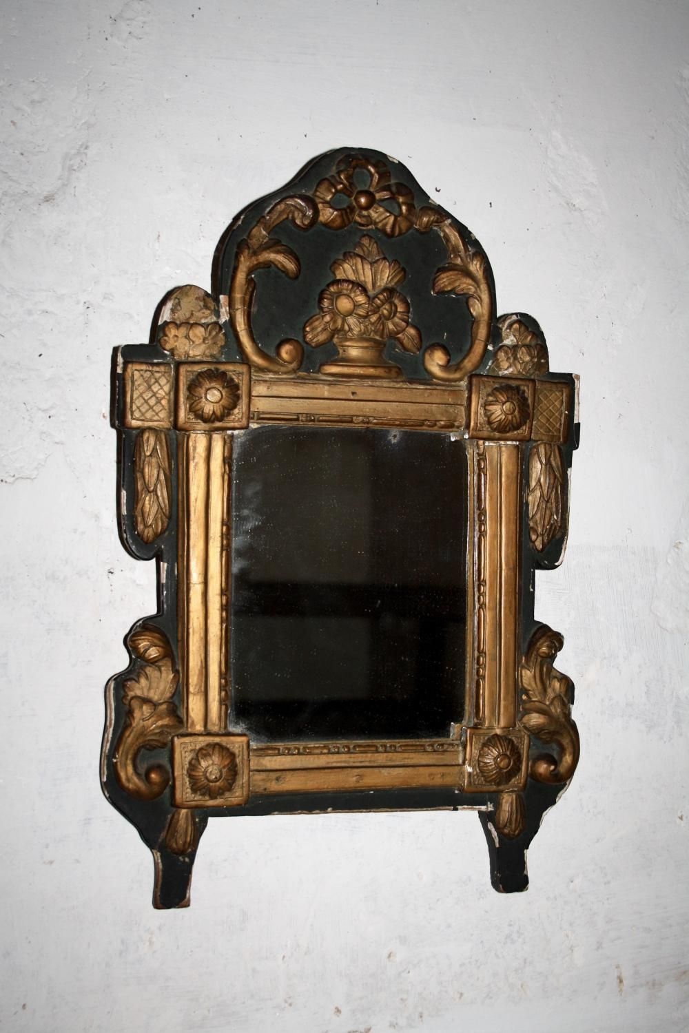 French mid 19th Century Mirror