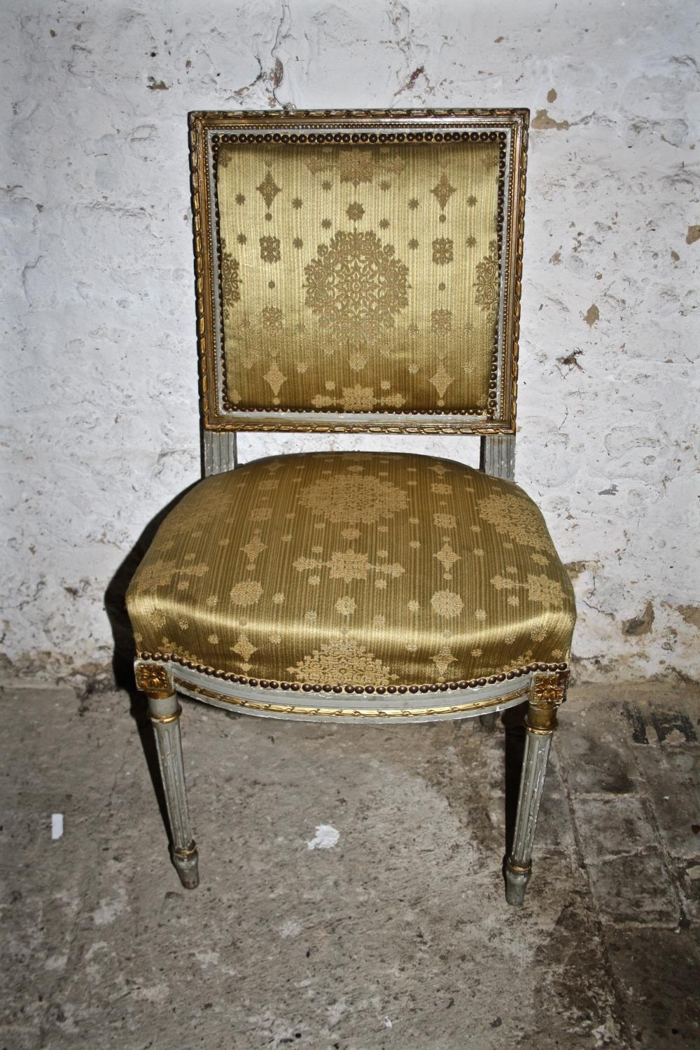 Painted French Chair