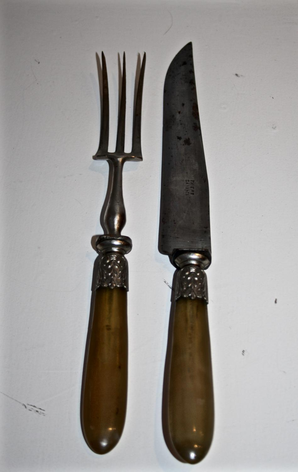 French Carving Knife and Fork
