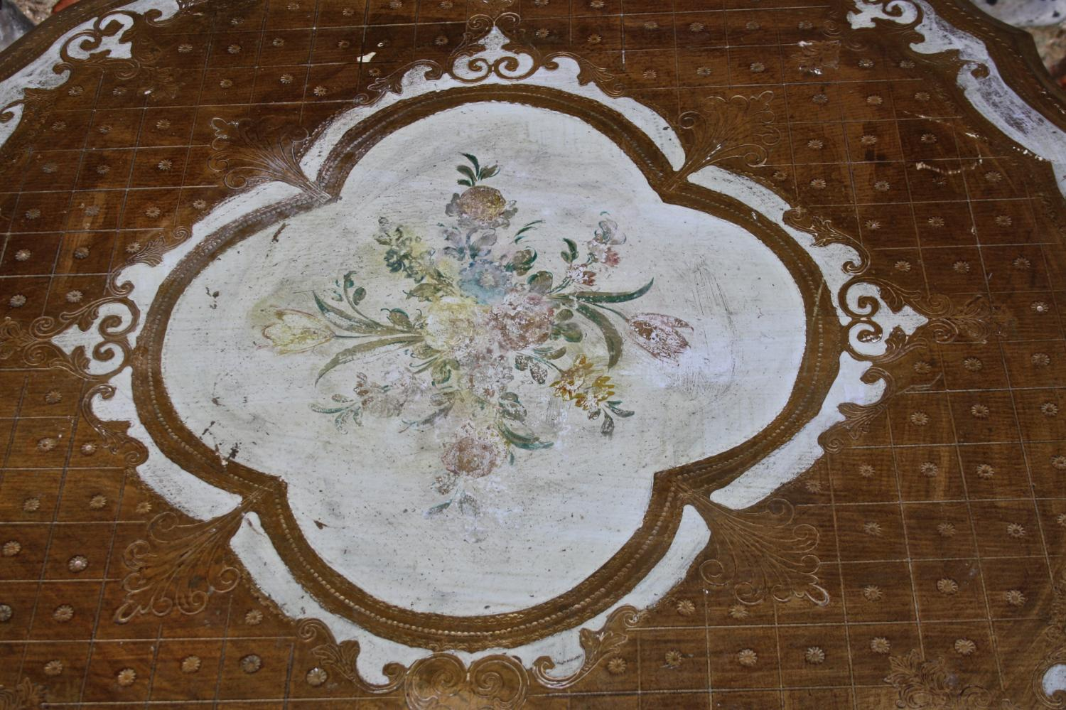 Round Florentine Side/Coffee Table