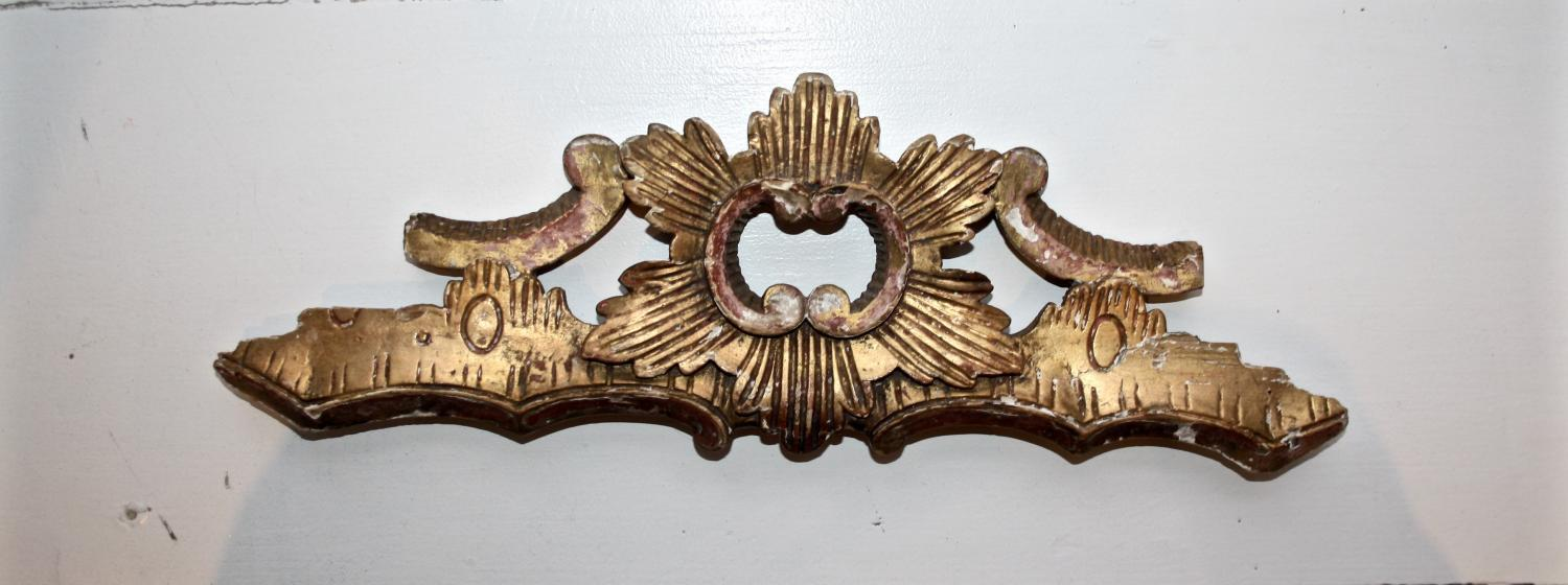 Giltwood Carving