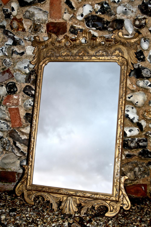 French 19th Century Gilt Mirror