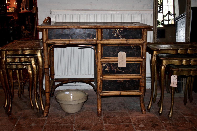 1930's bamboo desk