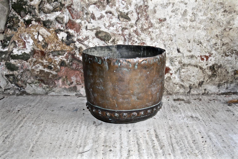Victorian Copper Vat/Planter