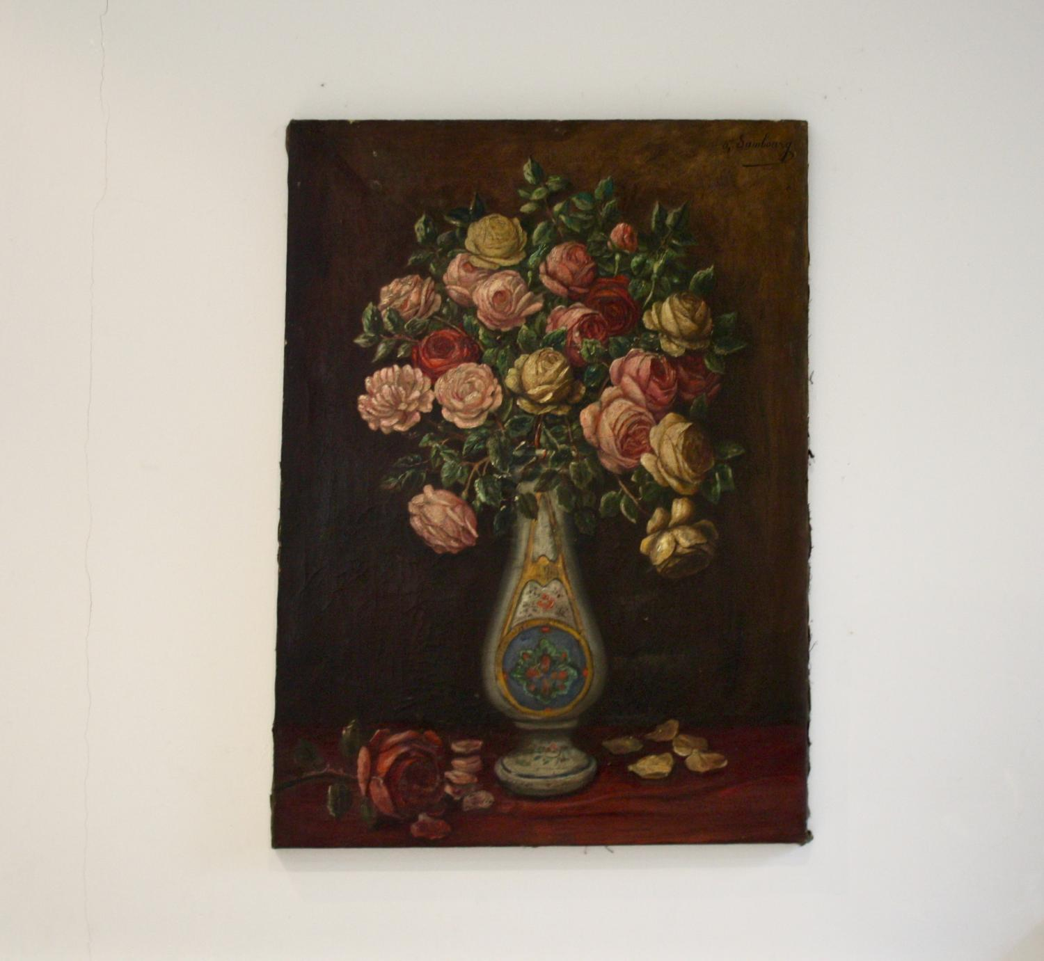 French Oil Painting