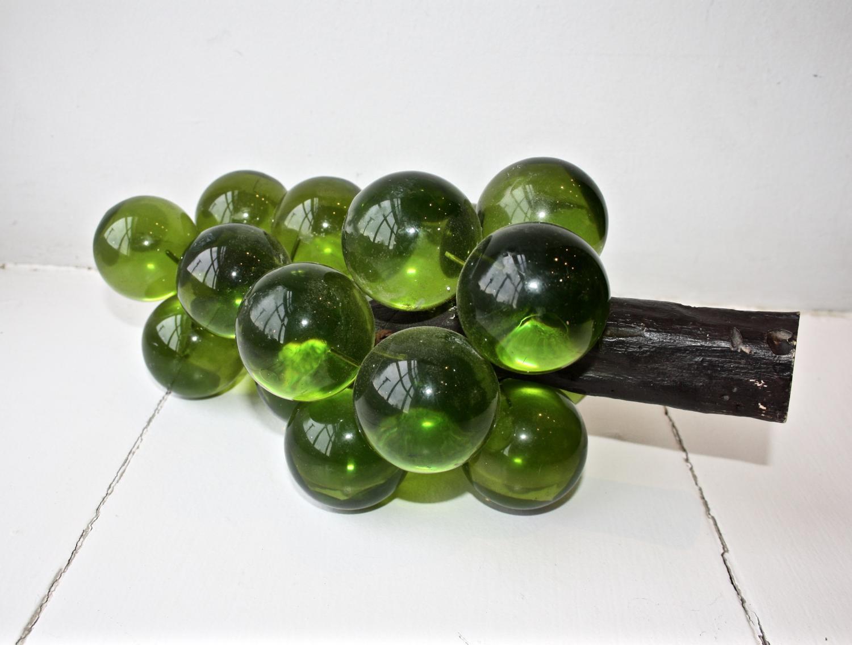 Mid Century Lucite Grapes