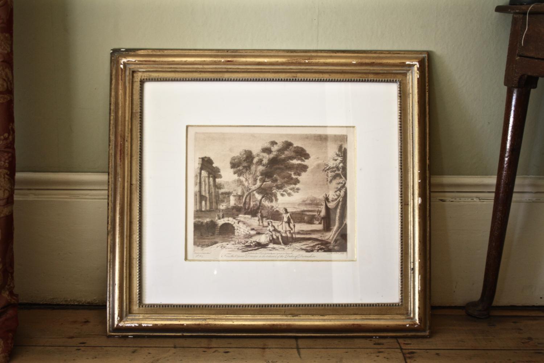 Duke of Devonshire Prints in Gilt Frames