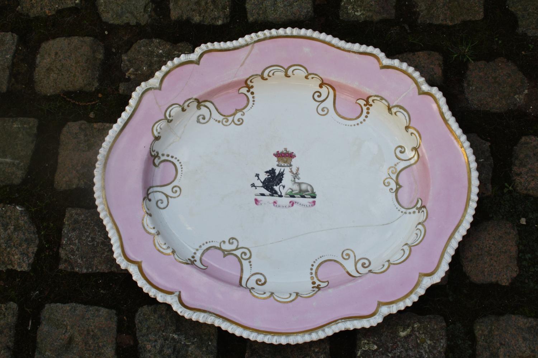 Late 19th century china platter