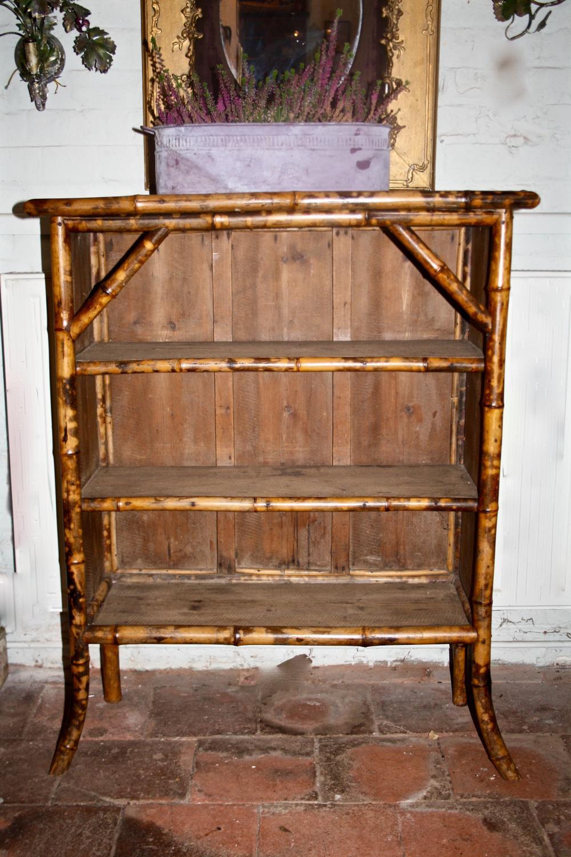1930's bamboo shelves