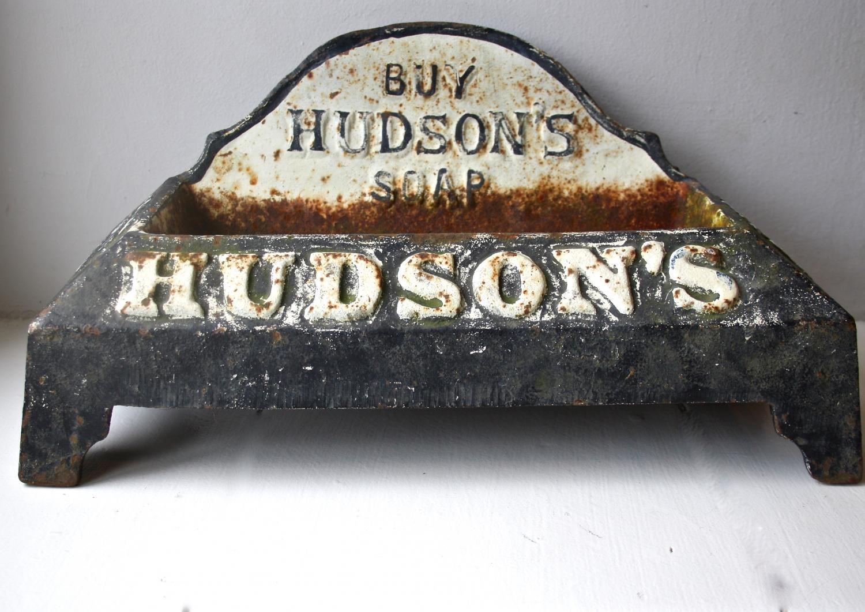 Cast iron Hudson's Soap puppy drinker