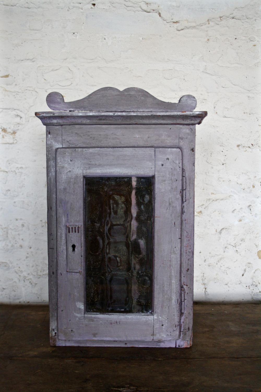Purple glazed hanging cupboard