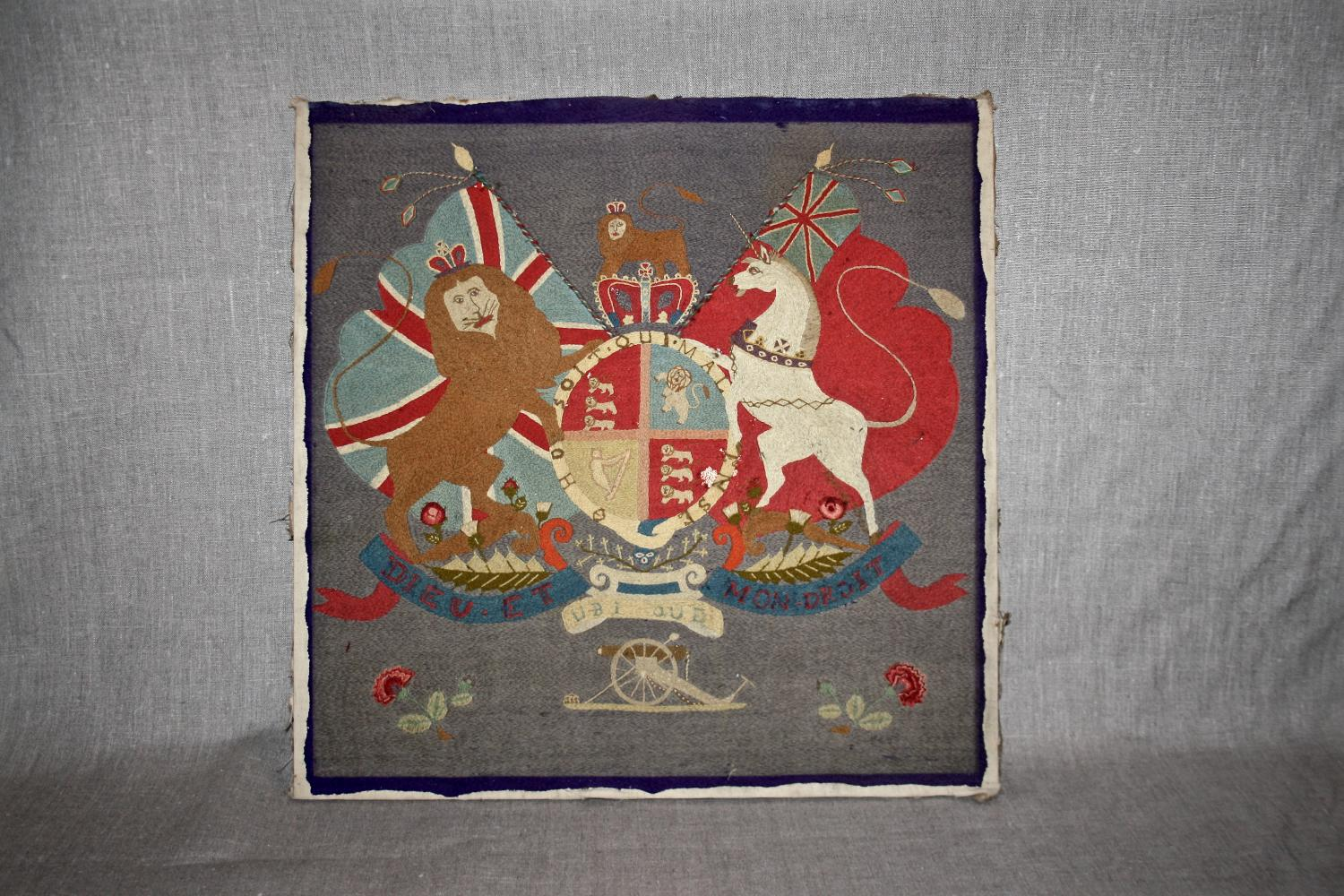 Royal coat of arms crest
