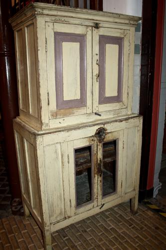 Small Indian painted dresser